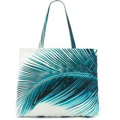 AMUSE SOCIETY x Samudra Bolsa Tote ($56) ❤ liked on Polyvore featuring bags, handbags, tote bags, swim, tote hand bags, tote bag purse, blue handbags, tote handbags and tote purses