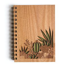 Product Details - Beautiful handcrafted / assembled wood cover journal - 5.25x 7.25 Cover (5x7 Pages) - 80 blank sheets // 160 pages (24lb. paper) - Cover is Laser cut on certified, sustainable wood (1/8 thick) - Back cover is navy vinyl - Designed and crafted in Southern California