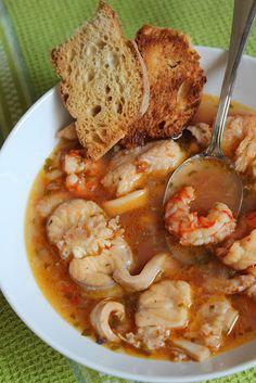 #Secondo: zuppa di #pesce