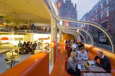 Nuevo espacio de trabajo por Selgas Cano en Londres. Fotografía © Iwan Baan.