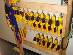 Another Nerf rack idea