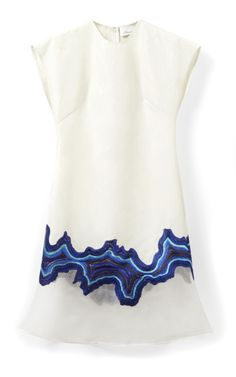 3.1 PHILLIP LIM Embroidered Geode Flounce Dress $795 ($795 deposit)