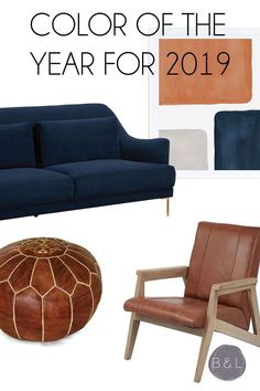 Looking for quick ways to add warmth and add the 2019 Sherwin Williams Color of the Year into your home? Interior Design Tips, Best Interior, Interior Decorating, Design Ideas, House Color Schemes, House Colors, Trending Paint Colors, Color Trends 2018, Leather Dining Chairs