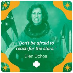 as if being the first latina astronaut to go to space isnt enough ellen ochoa is also a girl scout alumna a veteran of four space flights - Thrill Murray Coloring Book