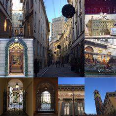 Milano, il Quadrilatero della Moda : via Montenapoleone, via della Spiga, via Gesù e i loro tesori nascosti nei cortili interni.