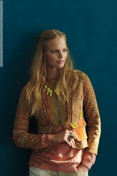 Marloes Horst for Anthropologie Catalog (August 2012) photo shoot - Celebs Venue - Fashion models and celebrities pictures & videos