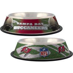 Tampa Bay Buccaneers Stainless Steel NFL Licensed Dog Bowl Denver Broncos 1a0c82b87