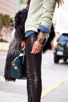 Mode des jeunes -20ans : Idée tenue d'hiver
