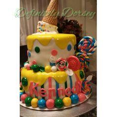 Ice Cream Candy cake I just finished Sonya Dorsey