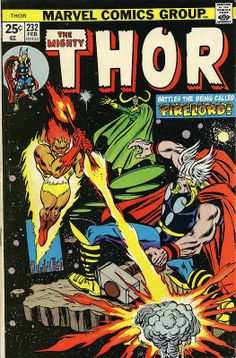 The Mighty Thor 232 Firelord Bronze age Marvel comics group Marvel Comic Books, Comic Book Characters, Comic Book Heroes, Marvel Characters, Marvel Heroes, Comic Character, Comic Books Art, Book Art, Grimm