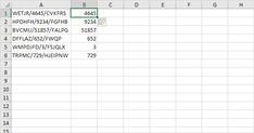 Use flash fill to extract the numbers in column A.