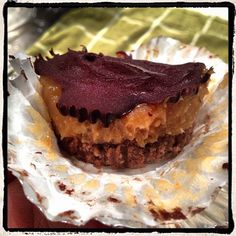 Crunchy Chocolate Peanut Butter Cups. ASN owners FAVOURITE clean treat! See ASN Blog for recipe.
