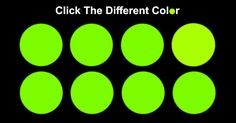 This is a fun color differentiation test that focuses on choosing a color that varies in shade compared to the others. It's a viral social media color quiz. Color Quiz, Puzzle Store, Magic Eyes, Fun Quizzes, All The Colors, Social Media, Quizes, Eagle, Challenges