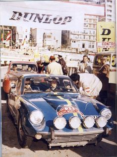 SAAB Sonett V4 in 1969 Rally Monte Carlo The super-smooth Finnish driver Simo Lampinen (with Arne Herz as a pilot) entered the 1969 Monte in semi-private capacity with SAAB Sonett V4.