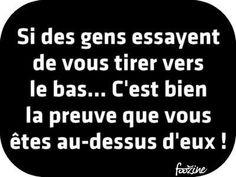 ****chez so***bien dit ! Words Quotes, Life Quotes, Sayings, Quotes Quotes, Best Quotes, Funny Quotes, Bien Dit, Quote Citation, Citation Destin