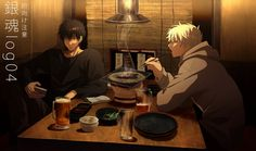 Reminds me of some characters ik Gintama Wallpaper, Okikagu, Figure Reference, Digital Art Tutorial, Comic Games, Character Design References, Art Tutorials, Anime Guys, Anime Characters