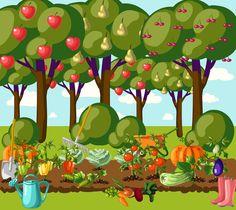 Výsledok vyhľadávania obrázkov pre dopyt záhradka animovany obrázok