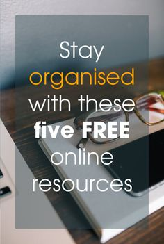 Five clever (and free) resources to help you stay #organised! #talentedladiesclub