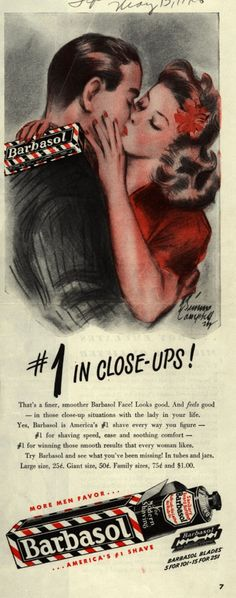 Barbasol – #1 In Close-Ups (1946)