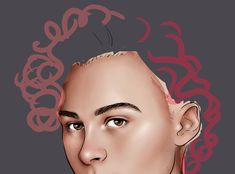 not a time lapse, just a layer by layer build up of Wyatt's curls but thought it might be interesting nonetheless :-)
