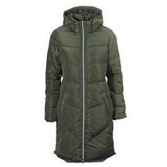 Padded Coat with Detachable Hood