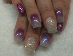 Acrylic nails by Loni at Delonnie's Hair and Nail Studio