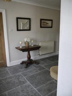 nutmeg white dulux - hallway
