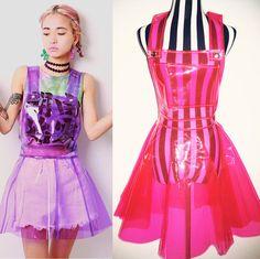 Harajuku neon galaxy suspended skirt sold by Harajuku fashion. Shop more…