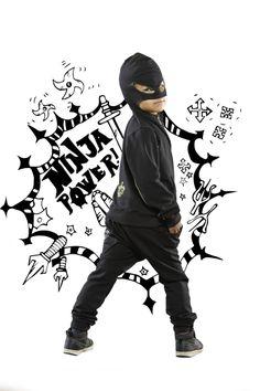 I'm a Ninja#kids#fashion#style#moda