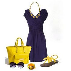 Hardin-Simmons University game day cute outfit purple and gold ...