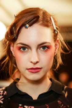 Red lip inspiration | Spring/Summer 2017: Couture Beauty | British Vogue