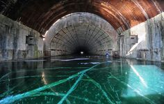 Abandoned - Russian nuclear submarine facility