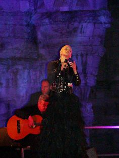 Fado Singer Mariza (I've seen her live and she's amazing - I recommend everyone sees her live!)