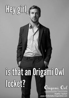 Hey girl, is that an Origami Owl locket?