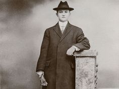 """As the ship was sinking, Denis, who is sometimes listed as Timothy O'Brien in Titanic passenger records, wrote a note to Michael. He gave the note and his overcoat to a woman in a lifeboat and asked her to see that his brother got them. She did. A photo of my grandfather wearing what we have always called """"the Titanic coat"""" holds a special place in the family archives."""