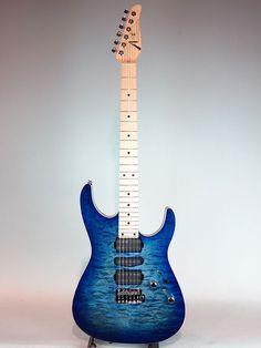 "TOM ANDERSON[トムアンダーソン] Angel ""Jack's Pacific Blue Burst"" w/Binding 詳細写真"