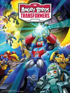 Angry Birds Transformers - Autobirds and Deceptihogs!