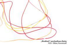 Childhood red - necklace Eva Suba