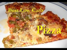 Atkins Diet Recipes - Best Low Carb Pizza