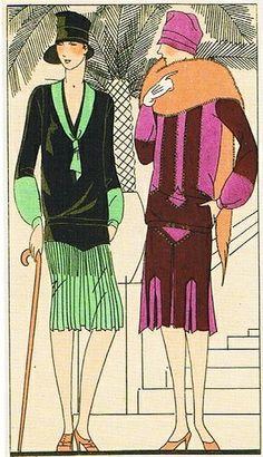 Vintage fashion 1920's