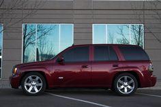 Everybody With a Red SS Post a Pic - Page 14 - Chevy Trailblazer . Chevrolet Trailblazer, Custom Chevy Trucks, Chevrolet Trucks, Gmc Trucks, Srt8 Jeep, Jeep Suv, Chevy Ss, Chevy Silverado, Cars