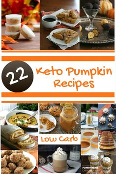 22 Fabulous Keto Pumpkin Recipes that you have to try. Nothing says Fall like pumpkin pie, cookies, coffee, and everything in between. These are my favorite Keto Pumpkin recipes from around the web. These recipes are low carb high fat recipes that will make your life more enjoyable!