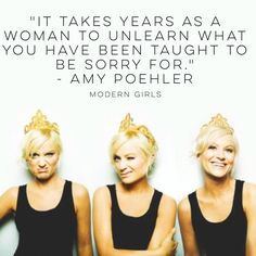 Amy Poehler speaks truths
