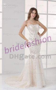 New Arrival!!2013 Newest Style Exquisite Strapless Mermaid Sequin Rhinestone Custom Made Tulll Prom Evening Dress