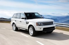 White Range Rover.. my dream car!