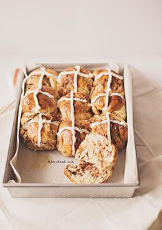 Choc Chip hot cross buns are so easy to make, packed with citrus flavor and real chocolate pieces...absolutely irresistible!