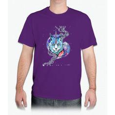 Lynx Unicorn - Mens T-Shirt