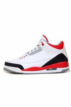 wholesale dealer a9517 a5290 Nike Mens Air Jordan Retro 3 OG Basketball Shoes White Black Fire Red Size  10 Authentic Brand New Durable Original Packaging