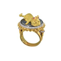 """""""Michelle"""" Dog Jewelry, Gems Jewelry, Animal Jewelry, Jewelry Art, Jewellery, Rings Cool, Luxury Jewelry, Cocktail Rings, Ring Designs"""