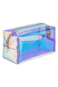 Transparent make-up bag Transparent Makeup Bag - Purple - Cute Pencil Case, School Pencil Case, Cute Makeup Bags, Cool School Supplies, School Suplies, Cute Stationery, Stationary, School Stationery, School Accessories